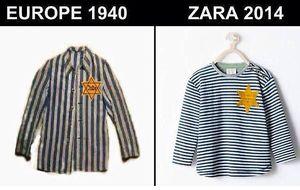 Las redes sociales estallan contra Zara por una camiseta para bebés