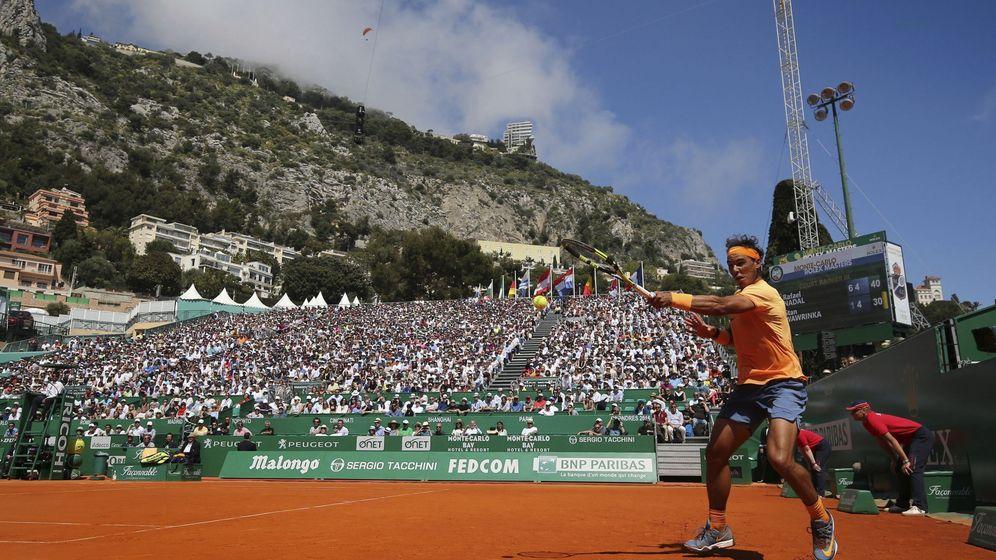 Foto: Nadal, en Montecarlo. (EFE)