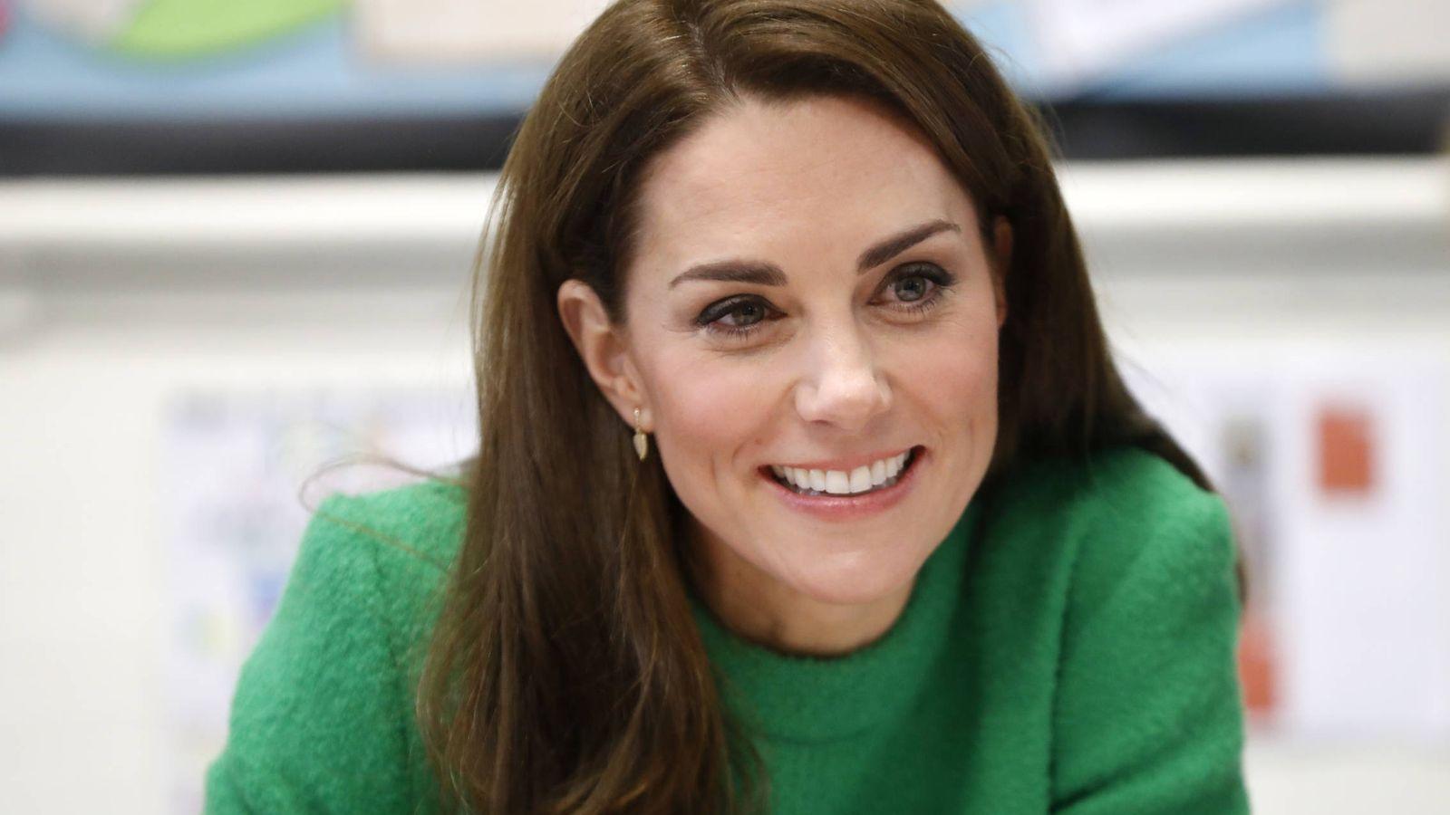 Foto: La duquesa en su aparición del martes. (Getty)