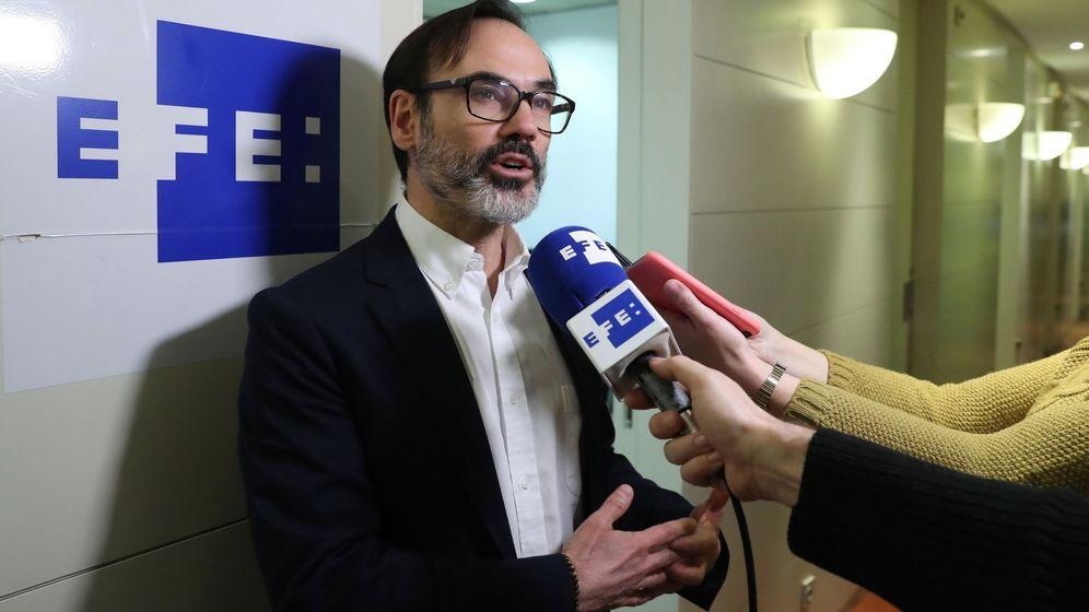Foto: El presidente de la Agencia Efe, Fernando Garea. (EFE)