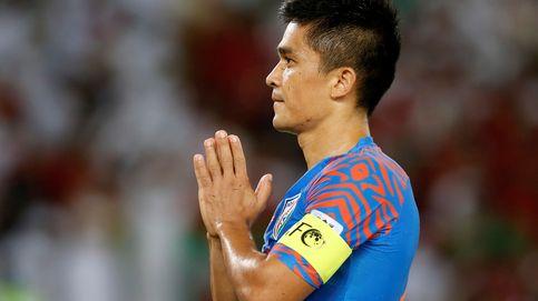 Un desconocido delantero indio adelanta a Messi como máximo goleador