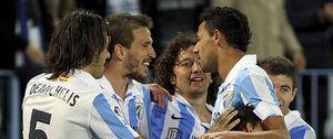 Foto: El Málaga vuelve a mostrar su mejor versión en Liga y deja muy tocado el futuro de Anquela