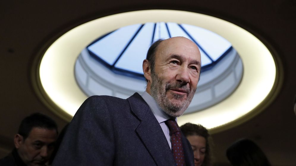 Foto: Alfredo Pérez Rubalcaba. (EFE)