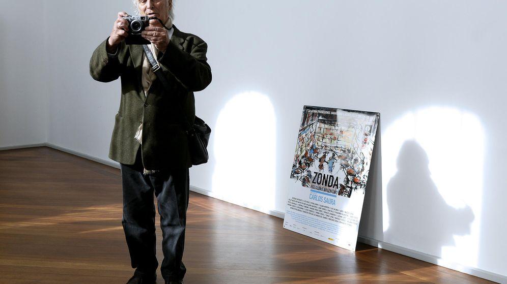 Foto: Carlos saura en la 60 semana internacional de cine de valladolid (seminci)