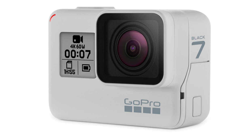 Foto: La nueva HERO7 Black en Dusk White también es el lienzo en blanco perfecto para poner color a tu GoPro cuando te apetezca.