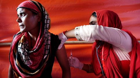 Campamento de refugiados rohinyás en Bangladesh