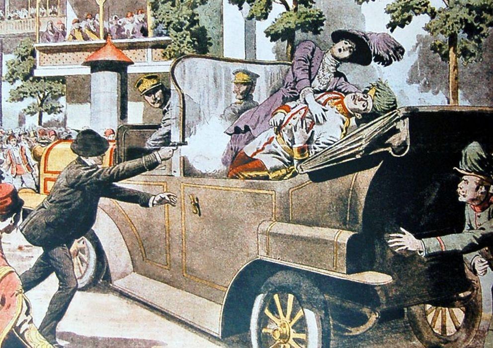 Resultado de imagen de asesinato del archiduque francisco fernando primera guerra mundial