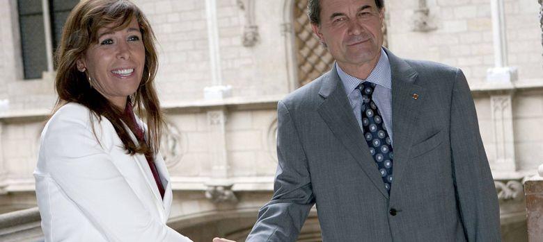 Foto: Alicia Sánchez-Camacho y Artur Mas, en una foto de archivo. (Efe)