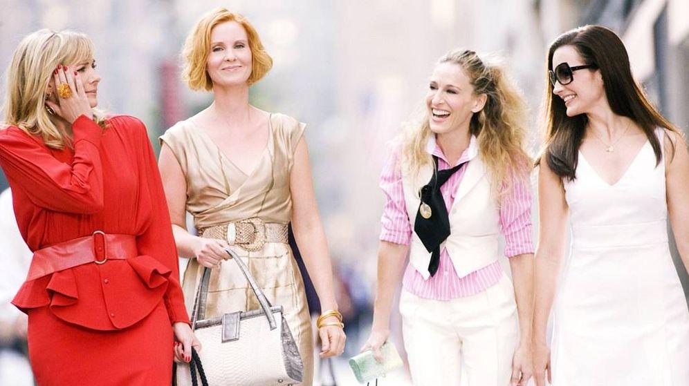 Foto: Las cuatro míticas actrices de 'Sexo en Nueva York'.