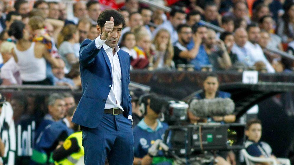 Foto: Marcelino ha resucitado al Valencia en un tiempo récord. (Cordon Press)