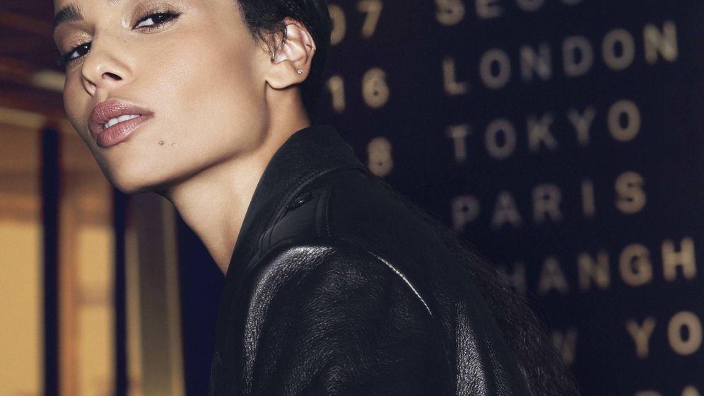 Foto: Zoe Kravitz, en una imagen de campaña de Yves Saint Laurent. (Cortesía)