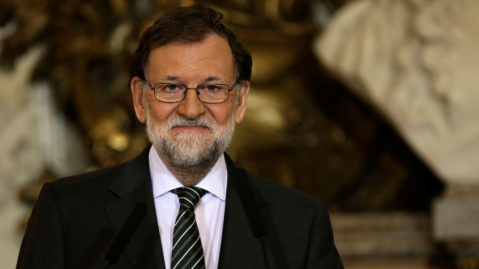 Foto: Mariano Rajoy, en la rueda de prensa ofrecida esta tarde en la Casa Rosada junto al presidente argentino, Mauricio Macri. (Reuters)