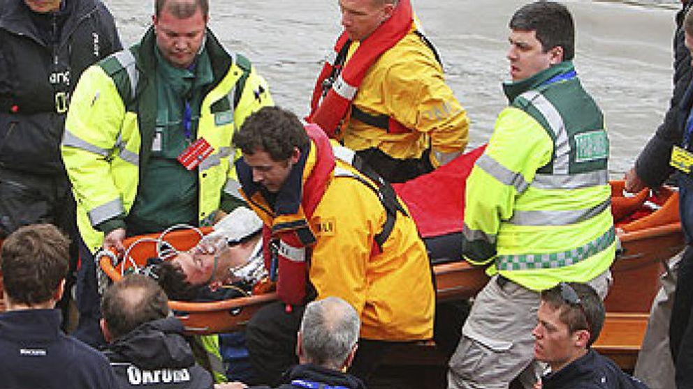 Victoria de Cambridge sobre Oxford en una regata muy accidentada