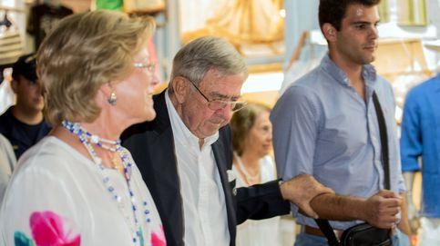Con muletas y lágrimas: el delicado estado del hermano de la reina Sofía