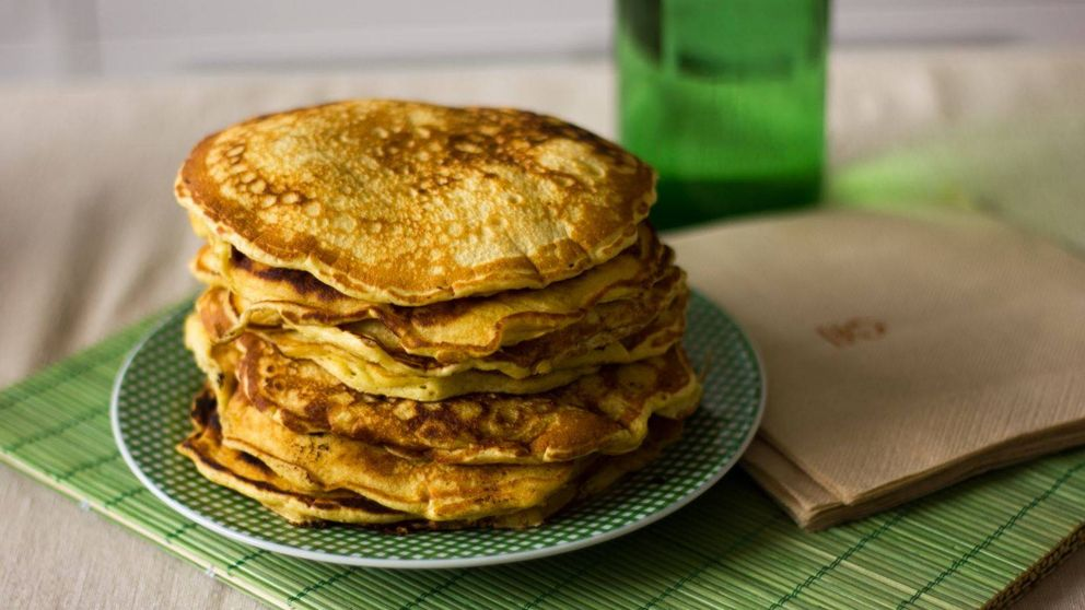 Tortitas caseras, perfectas para desayunar o merendar