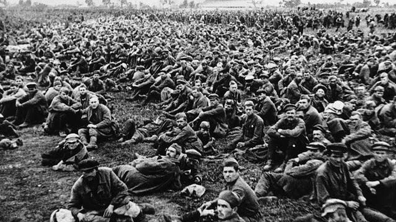 Medio millón de soldados soviéticos hechos prisioneros en el otoño de 1941