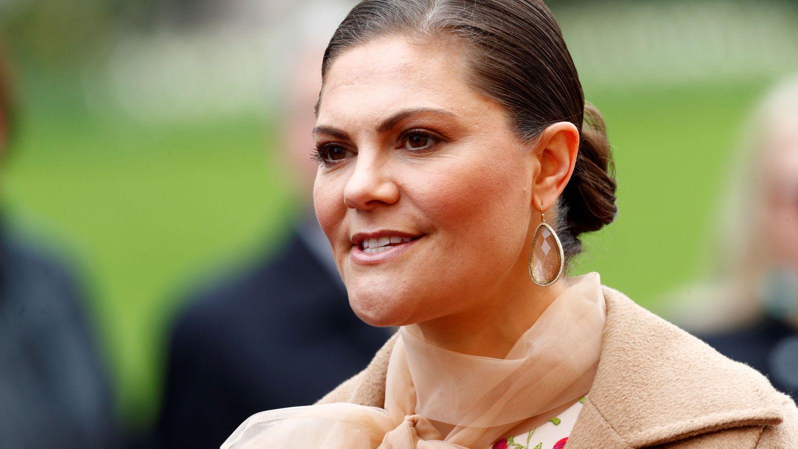 Foto: La princesa Victoria de Suecia en una imagen de archivo. (Reuters)