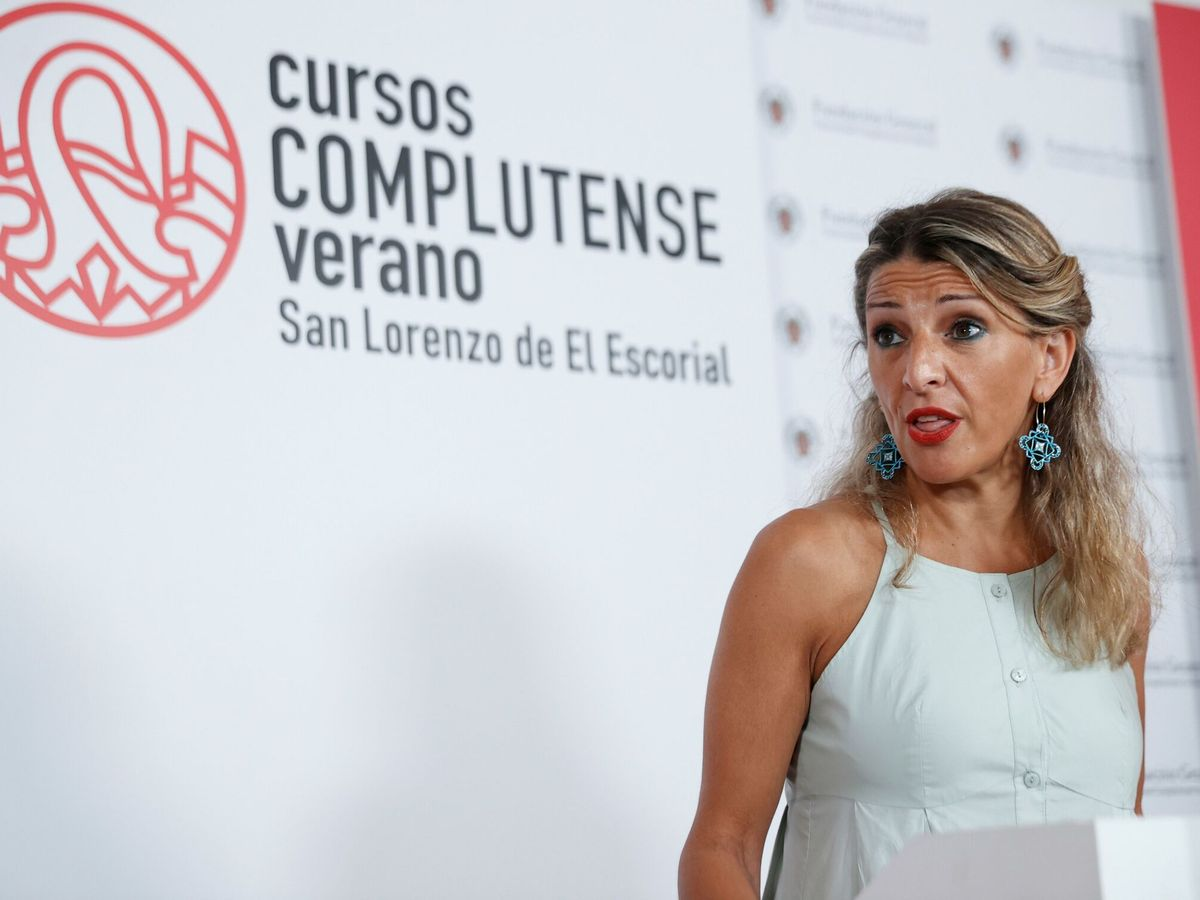 Foto: La vicepresidenta segunda, Yolanda Díaz. (EFE)