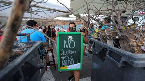 Barricadas en un pueblo canario contra la llegada de migrantes en cuarentena
