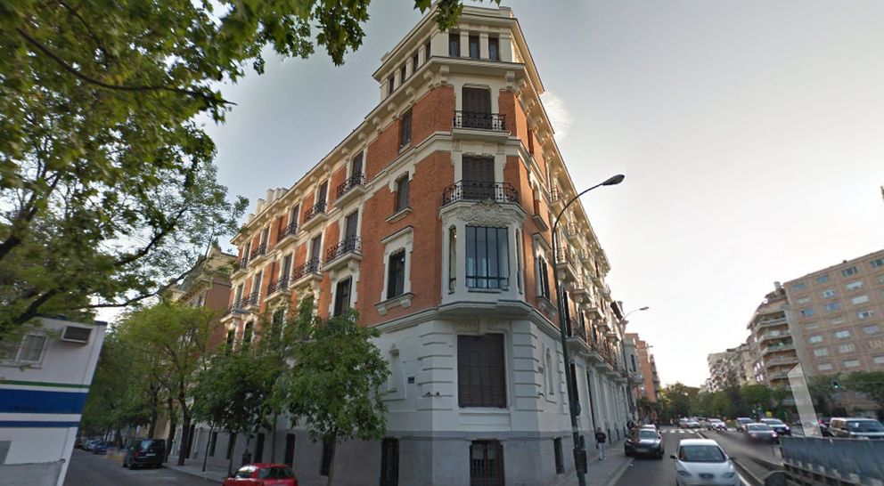 Foto: Sede de Drago Capital en el Paseo Eduardo Dato 18 de Madrid (Street View)