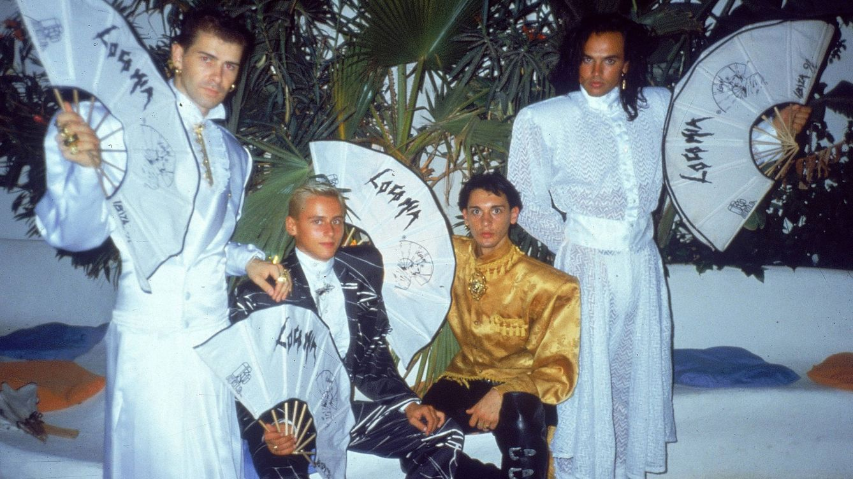 Foto: Xavier Font, Luis Font, Manolo Arjona y Carlos Armas: Locomía en su formación original.