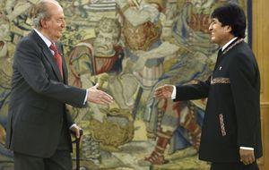 """Evo Morales: """"El Rey es mi amigo. El Príncipe no tanto. Me mira raro"""""""
