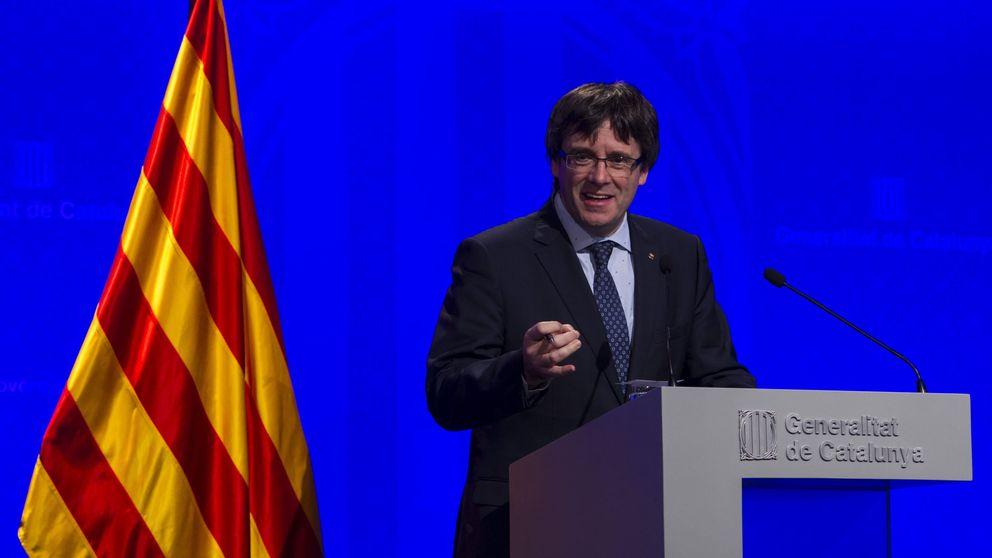 Puigdemont sobre las esteladas: Esa es la España de la que queremos escapar