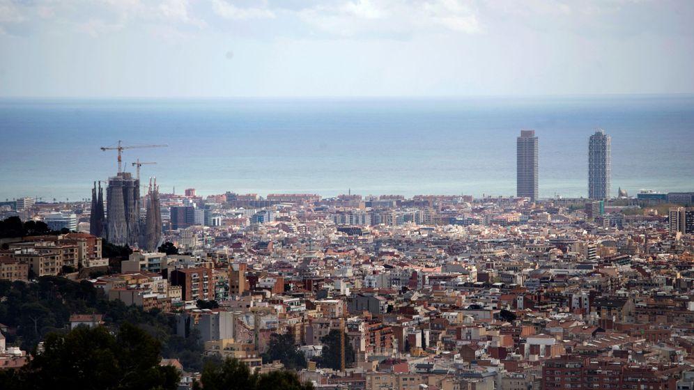 Foto: Barcelona en el undécimo día del estado de alarma (EFE)