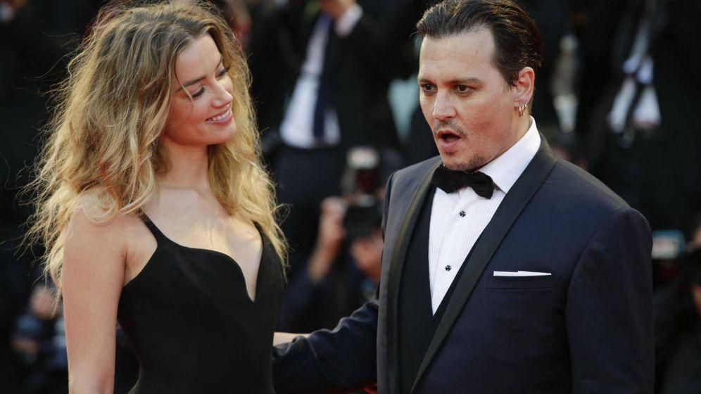 Foto: Amber Heard y Johnny Depp en una imagen de archivo. (Gtres)