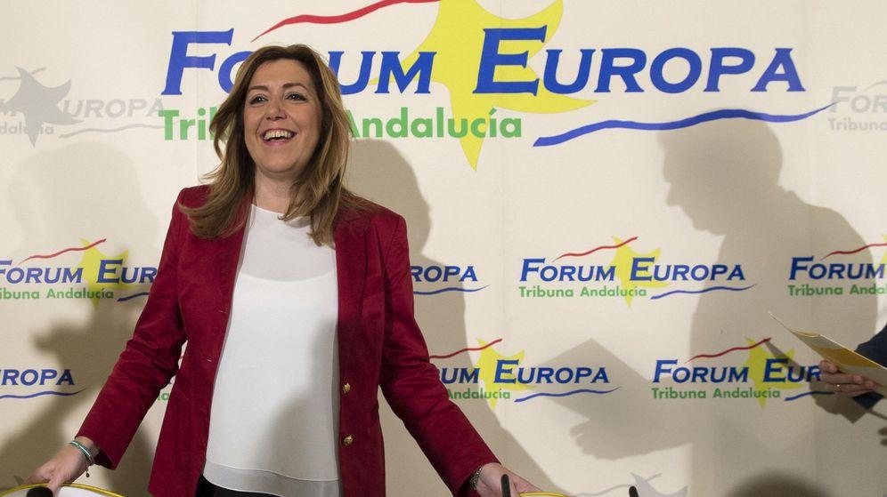 Foto: La presidenta en funciones de la Junta de Andalucía, Susana Díaz (EFE)