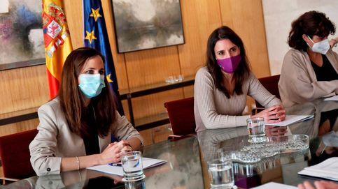 Vídeo, en directo | Sigue la comparecencia de las ministras Irene Montero y Ione Belarra