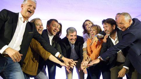 Los candidatos en Canarias auguran la salida de Coalición Canaria del Gobierno de las islas