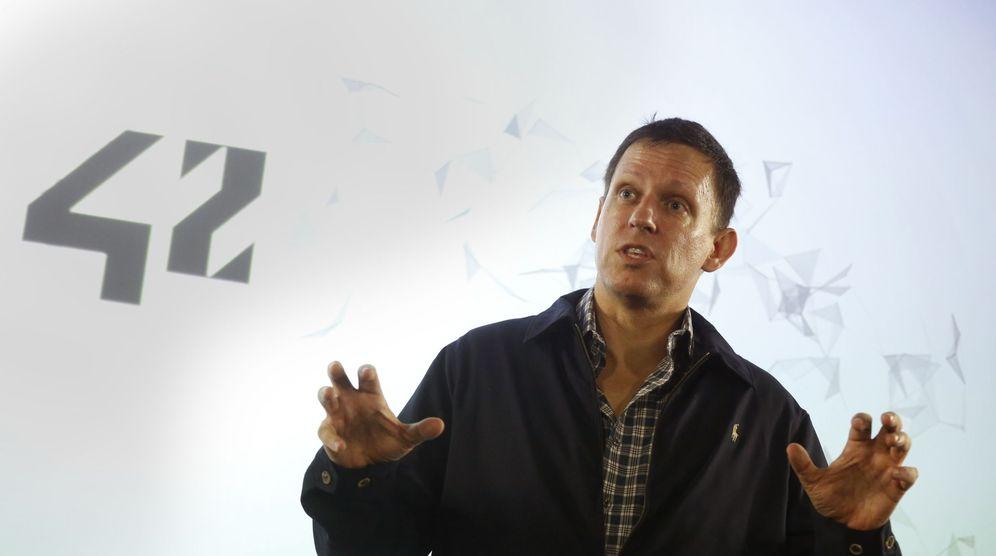 Foto: Peter Thiel, uno de los instigadores de estas teorías. (Jacky Naegelen / Reuters)