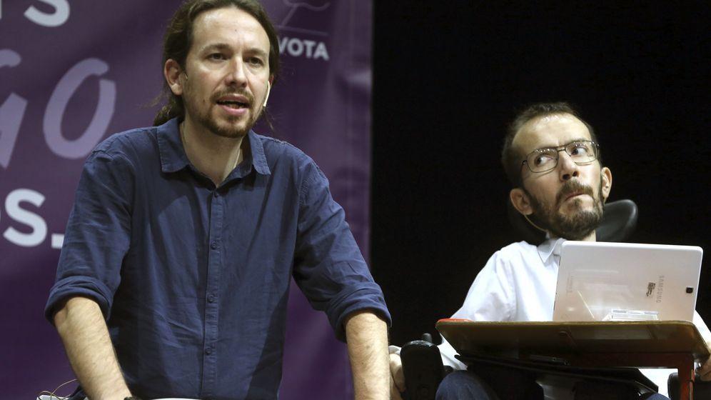 Foto: Pablo Iglesias y Pablo Echenique en una imagen de archivo. (EFE)