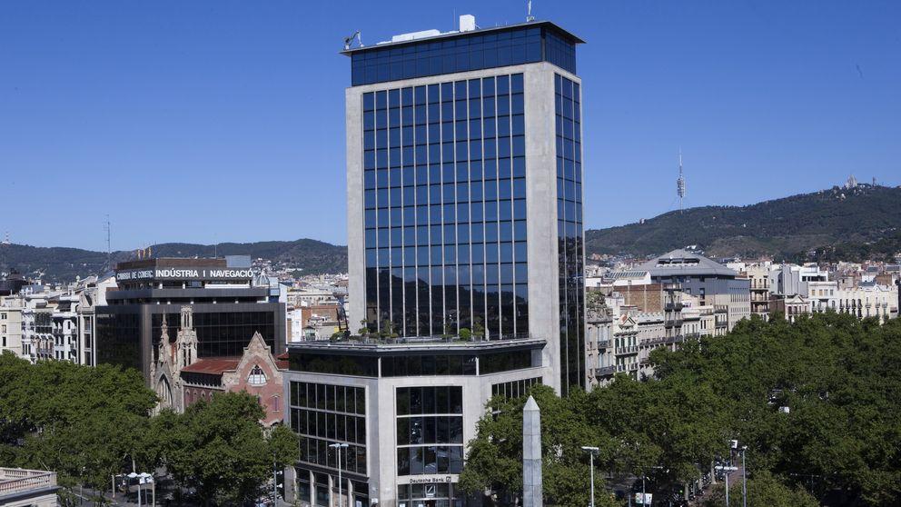 Compran la sede de Deutsche Bank en Barcelona para un cinco estrellas