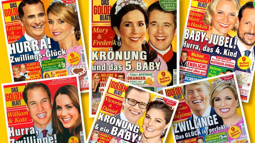 Foto: Las portadas de la revista alemana 'embarazosa'