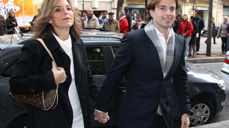 Arantxa Sánchez Vicario y su esposo, Josep Santacana, en una imagen de archivo. (Gtres)