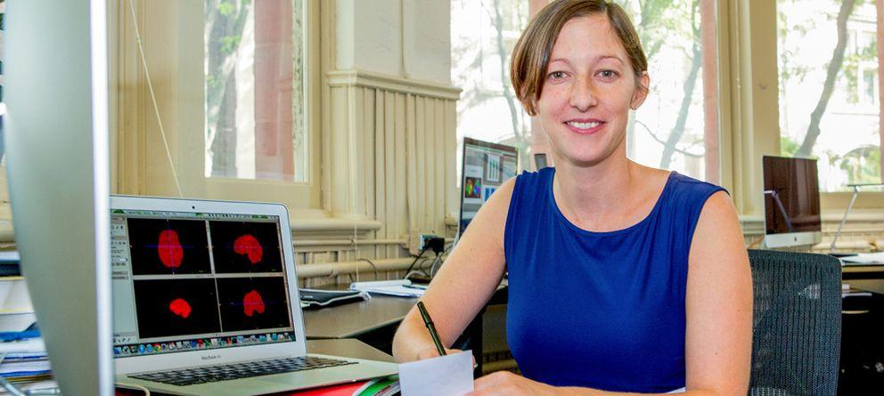 Foto: Danielle Bassett, una de las científicas incluida por 'Nature' entre los siete científicos promesa del año 2015