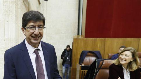 Las frases de Juan Marín (Cs) durante el debate de investidura en Andalucía