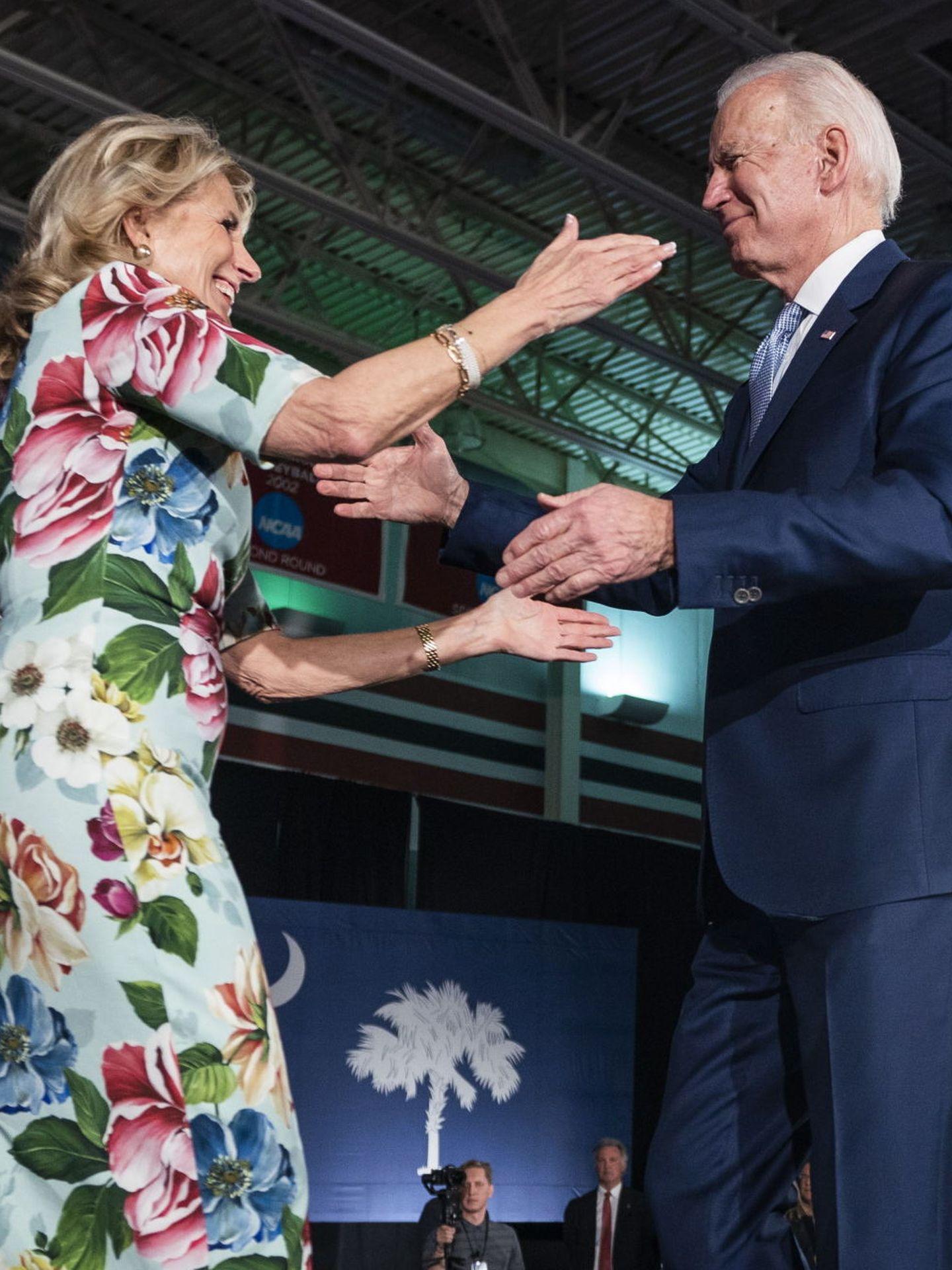 Joe y Jill Biden. (EFE)