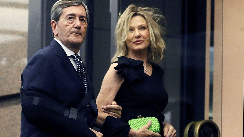 Alfonso Cortina y Miriam Lapique, en una imagen de archivo. (EFE)