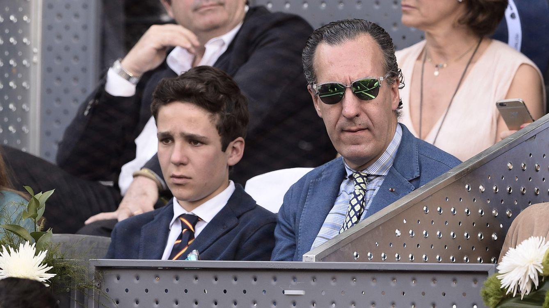 Foto: Jaime de Marichalar acompañado de su hijo Froilán, en una imagen de archivo (Gtres)