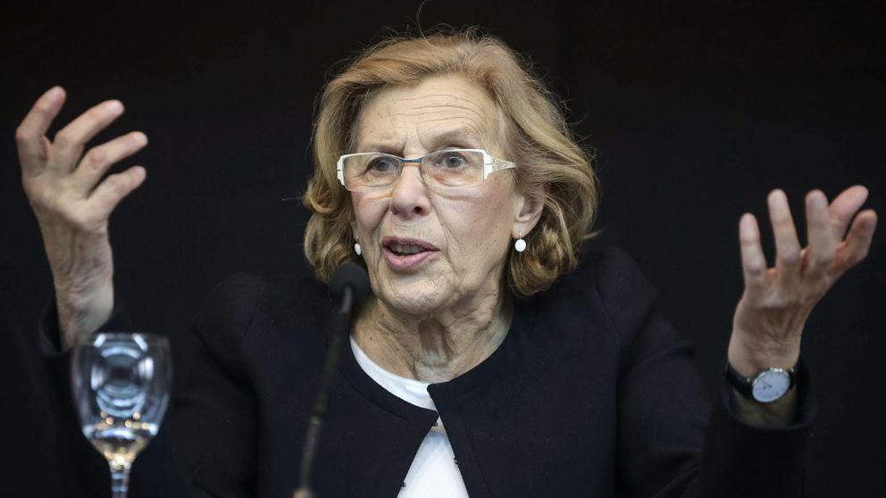 Manuela Carmena, candidata a la Alcaldía de Madrid, se desvincula de Podemos