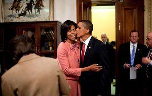 El San Valentín a distancia de los Obama