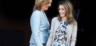 Post de ¡Feliz cumpleaños, doña Sofía! Letizia y Cristina, sentadas a la misma mesa