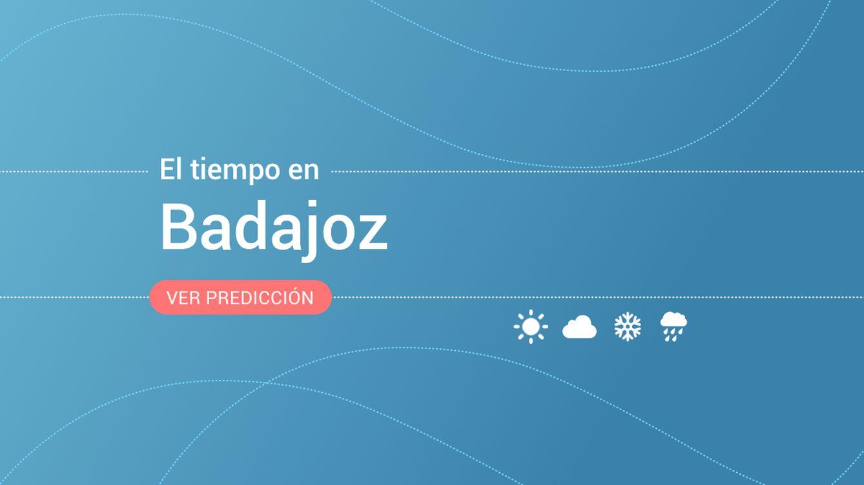 El tiempo en Badajoz: previsión meteorológica de hoy, domingo 22 de septiembre