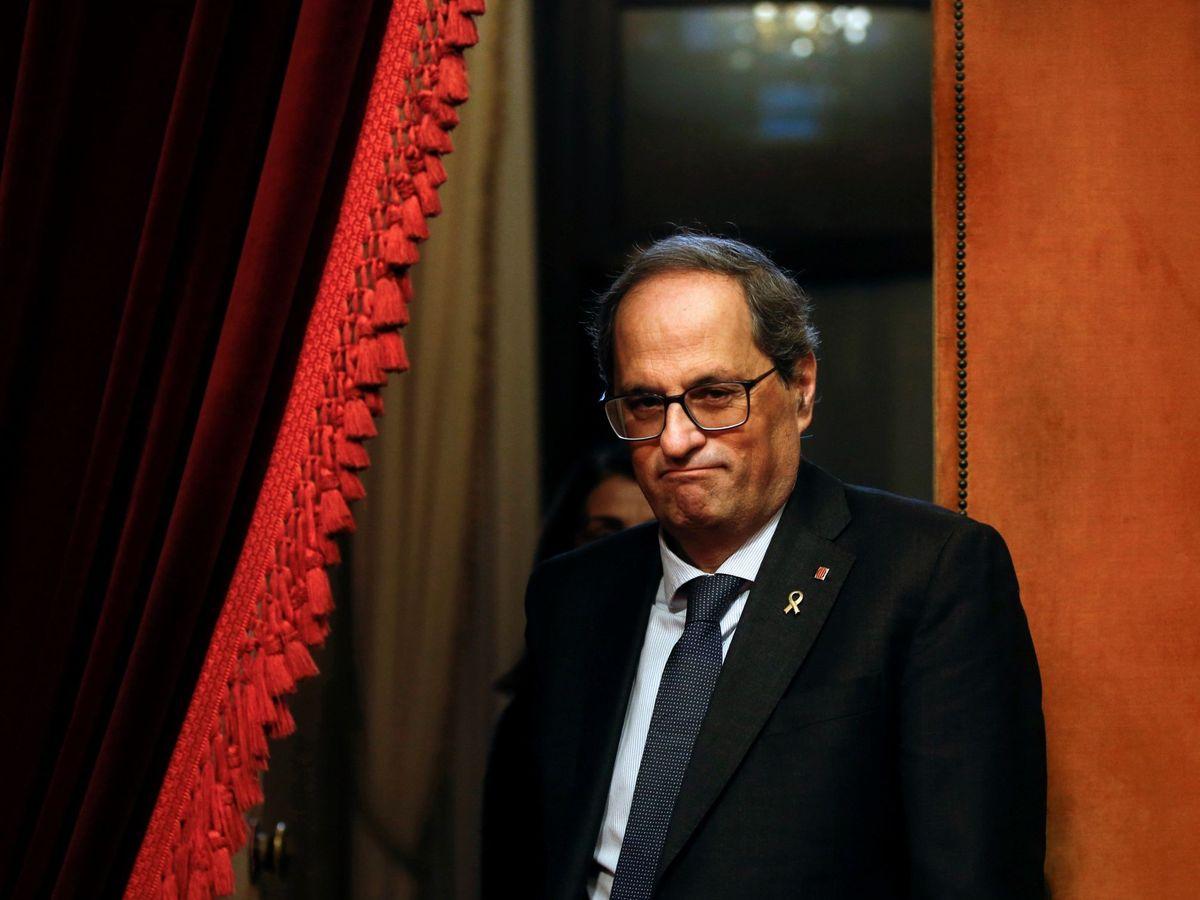 Foto: El presidente de la Generalitat, Quim Torra (EFE)