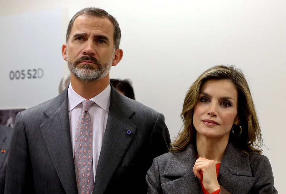 Foto:  Felipe y Letizia. (Reuters)