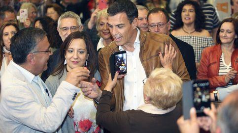 Díaz, Sánchez y López registran sus candidaturas y se lanzan a por los avales