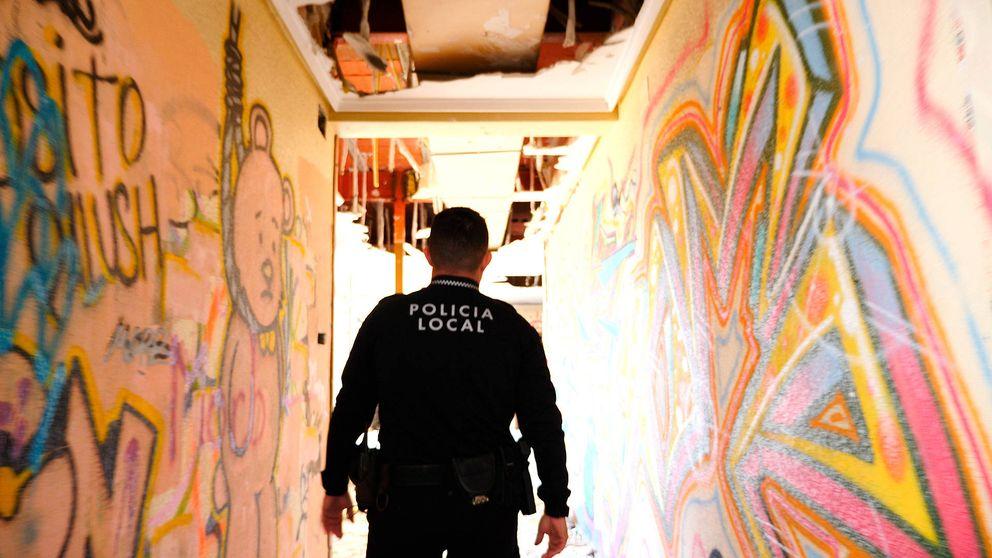 Los detectives del grafiti: así dan caza a los artistas urbanos en el 'santuario' de Elche